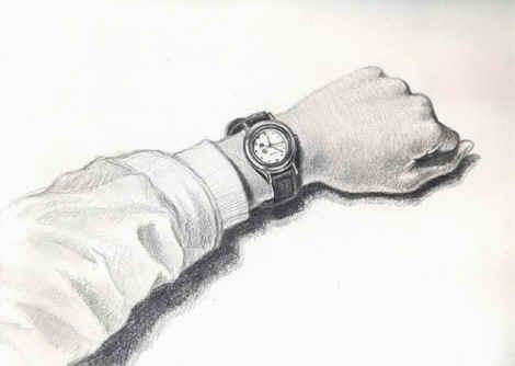 简单手绘阿狸铅笔画展示